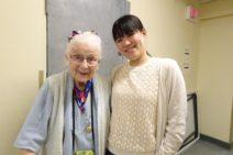 104歳のおばあちゃんと